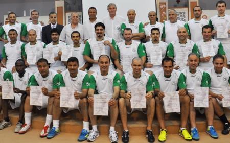 Seminar for Soccer Coaches in Ajman 2013