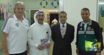 Peter Schreiner visits Al Hikmah Privat School (Ajman)