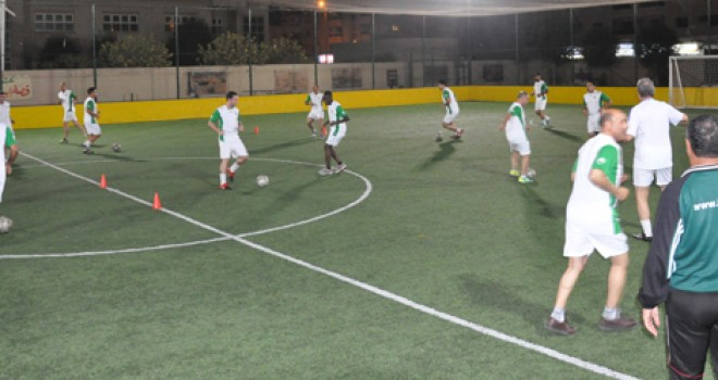 Soccer Coaches Seminar Ajman 2013: Training Session 4
