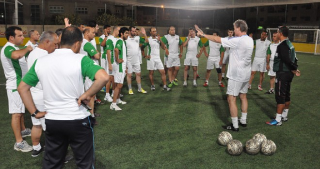 Soccer Coaches Seminar Ajman 2013: Training Session 5