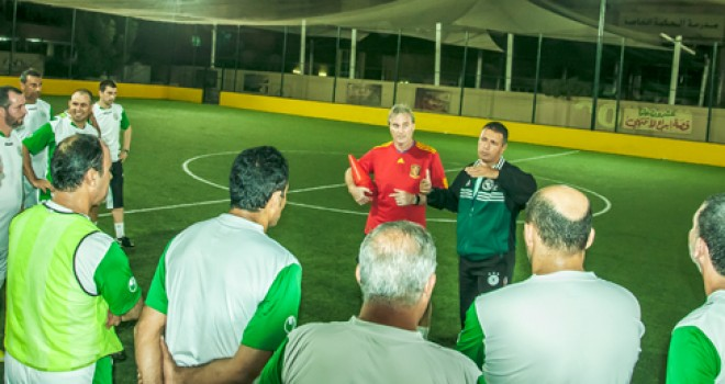 Soccer Coaches Seminar Ajman 2013: Training Session 3