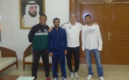 Soccer Coaches Seminar: Peter Schreiner Presenter at Sharjah Football Club 2014