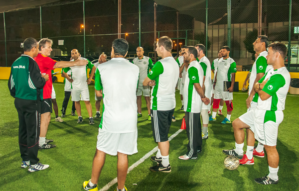 Soccer Coaches Seminar Ajman 2013: Training Session 1