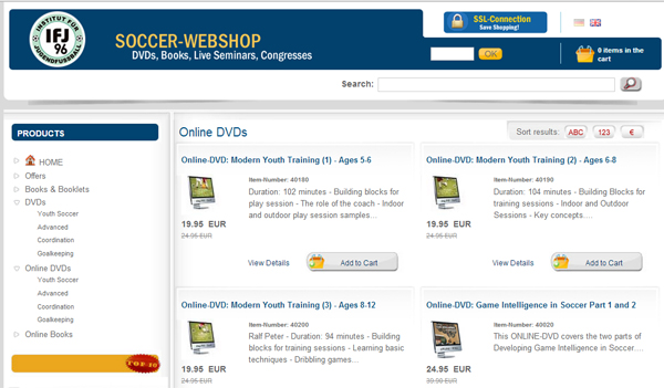 Soccer DVDs - Germany